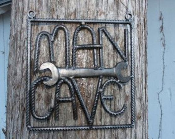 Man Cave Sign Welding Project