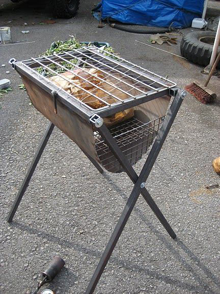 Easy Welded Barbeque