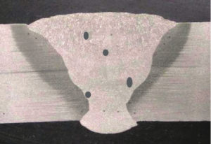 example of distributed porosity