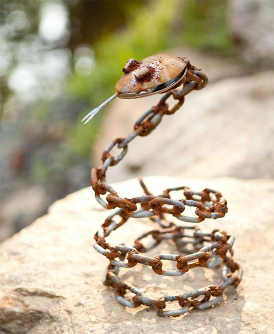 Small Welded Chain Snake